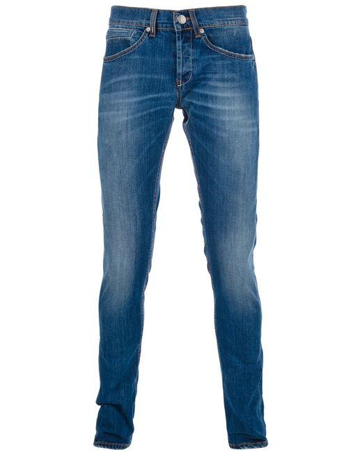 Dondup | Мужское Синий Skinny Jean