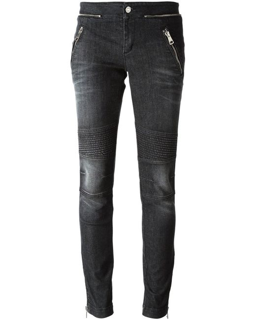 Gucci   Женское Чёрный Zip Detail Jeans