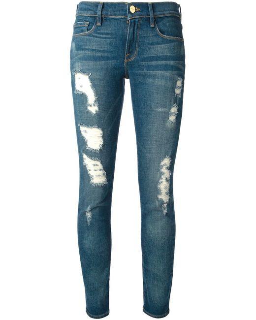 Frame Denim   Женское Синий Skinny Jeans