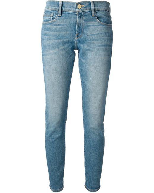 Frame Denim | Женское Синий Tapered Jeans