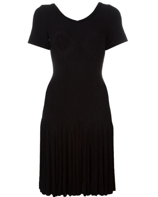 Alaïa | Женское Чёрный Ribbed Knit Dress