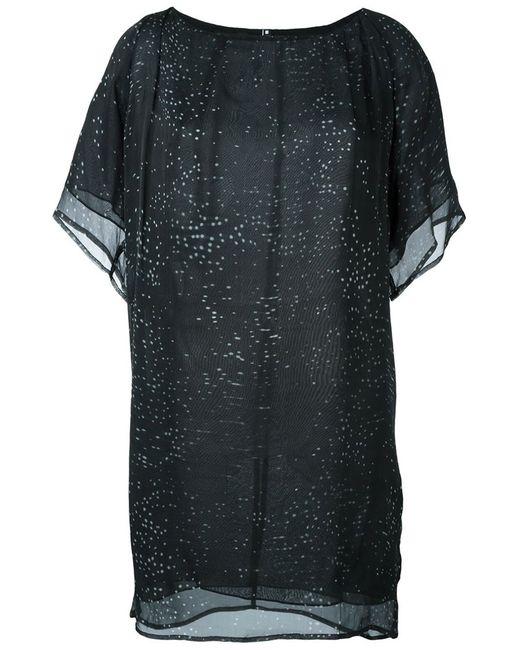 Minimarket   Женское Чёрное Платье Eon