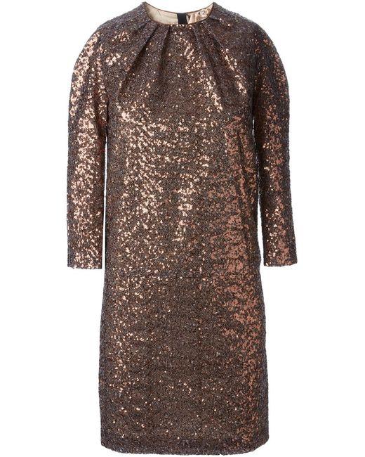 No21   Женское Серебристый Sequin Dress