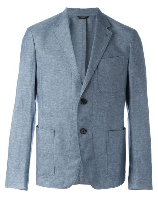 Fendi | Мужское Синий Patch Pocket Blazer