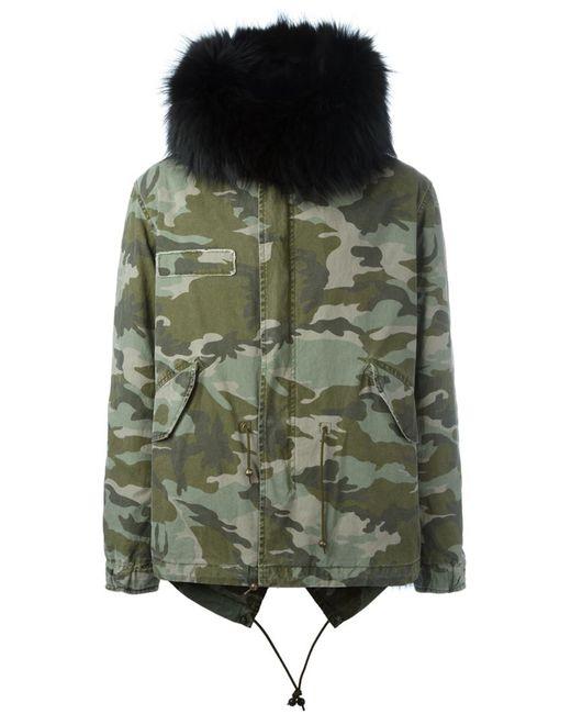 MR & MRS Italy | Мужское Зелёный Military Jacket