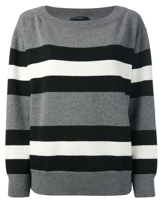 Gucci | Женское Серый Striped Sweater