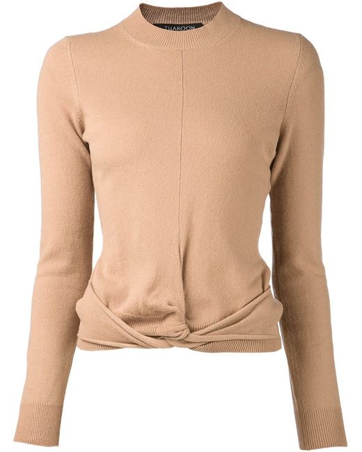Thakoon | Женское Nude & Neutrals Twisted Knit Sweater