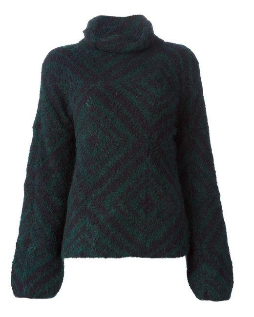 Dries Van Noten | Женское Зелёный Michala Oversized Sweater