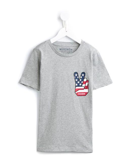 Woolrich Kids   Женское Серый Bs Victory T-Shirt