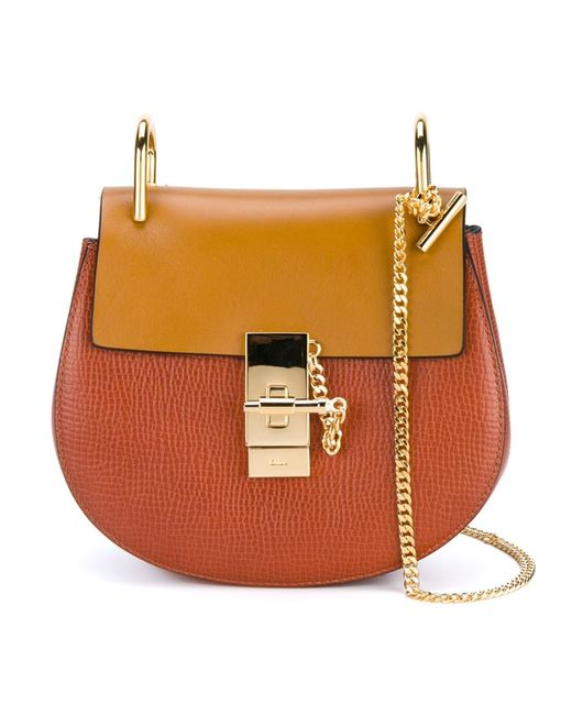 Chloe | Женское Желтый Chloé Mini Drew Shoulder Bag