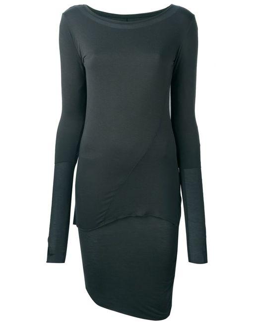 THOM KROM | Женское Зелёное Многослойное Платье