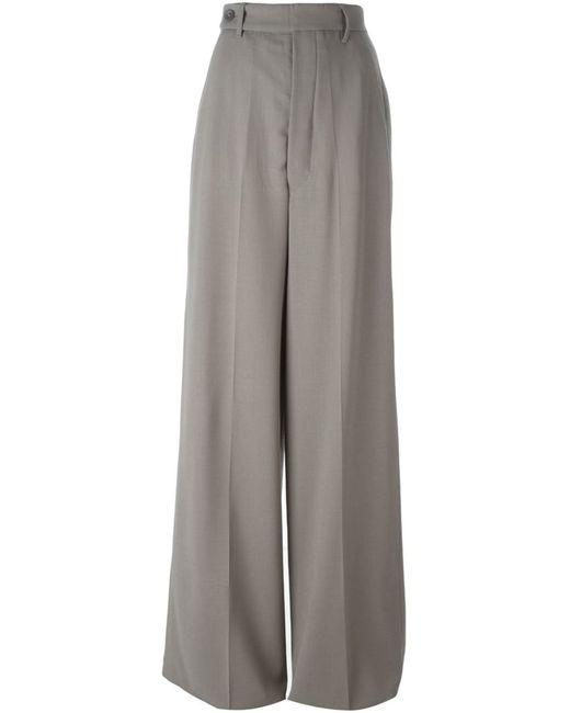 Rick Owens | Женское Серый High Waisted Palazzo Pants