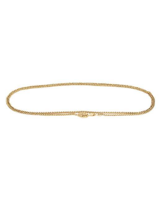 Chanel Vintage | Женский Серебристый Цепочный Ремень