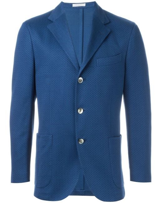Boglioli | Мужское Синий Three Button Blazer
