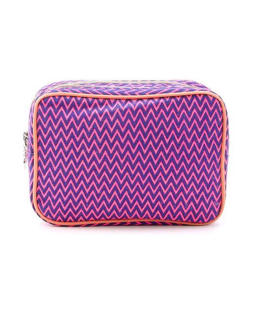 Sub | Женское Розовый Zig Zag Pattern Make-Up Bag