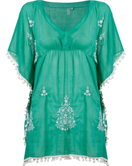 Sub   Женское Зелёный Embroidered Kaftan