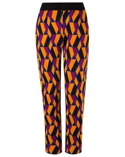 Gig | Женское Желтый Geometric Knit Trousers