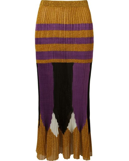 Gig | Женское Желтый Mid-Length Knit Skirt