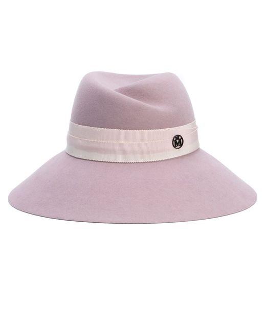 Maison Michel   Женское Розовый Fedora Hat