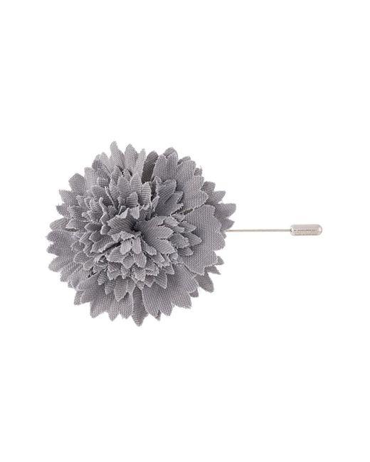 Lanvin | Мужское Серый Carnation Tie Pin