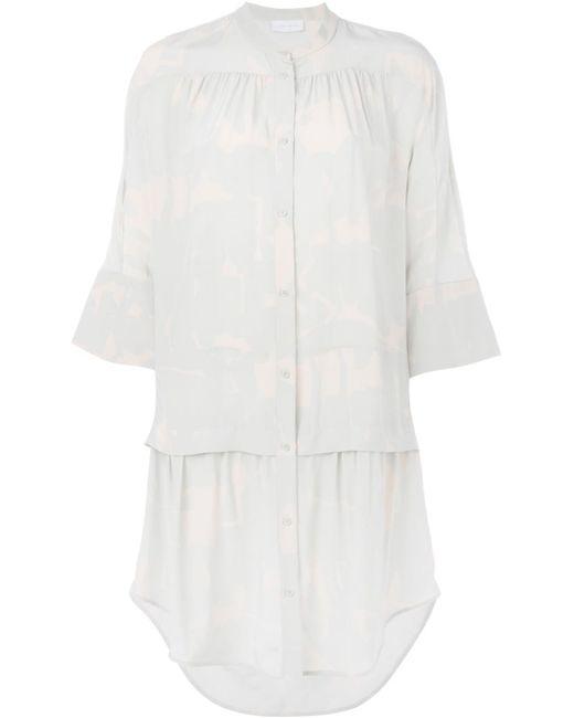 Christian Wijnants | Женское Зелёный Dopa Drop Waist Pleated Shirt Dress