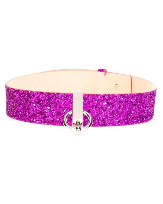 Dsquared2 | Женское Розовый Glitter Waist Belt