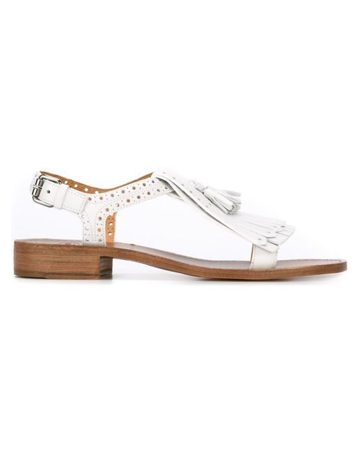Church'S   Женское Белый Tassel Sandals