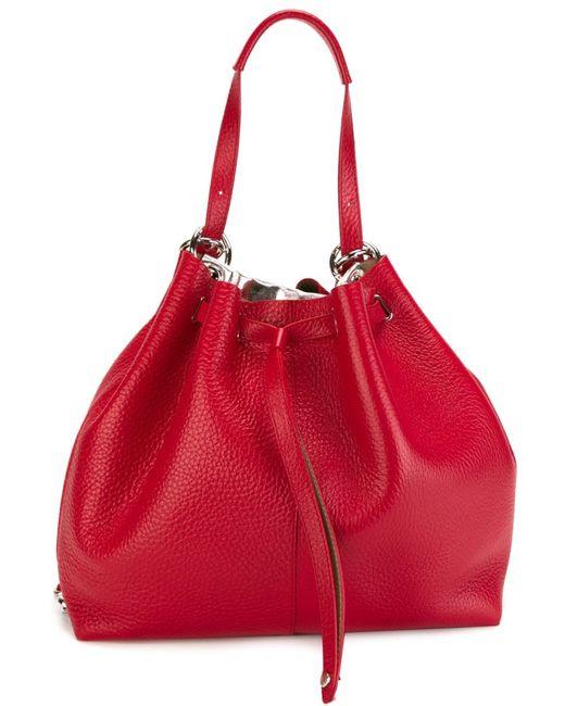 Orciani | Женское Красный Large Drawstring Backpack