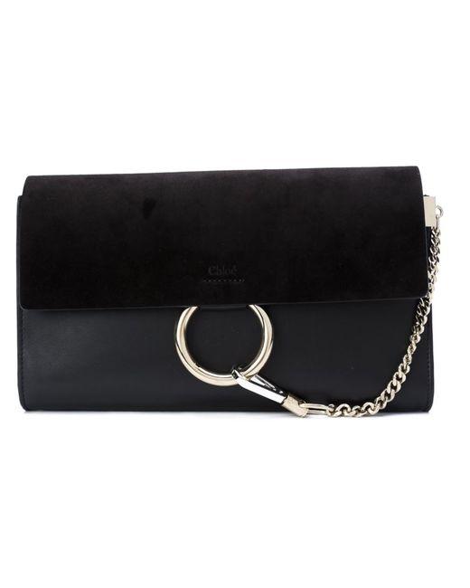 Chloe | Женское Чёрный Chloé Faye Clutch Bag
