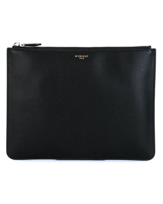 Givenchy | Мужское Чёрный Zip Clutch