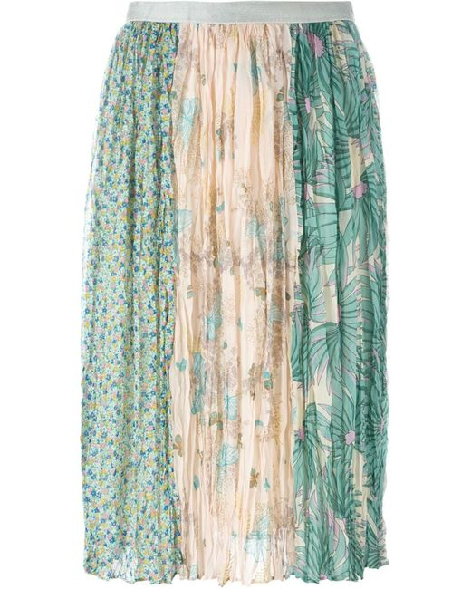 Tsumori Chisato | Женское Многоцветный Patchwork Print Skirt