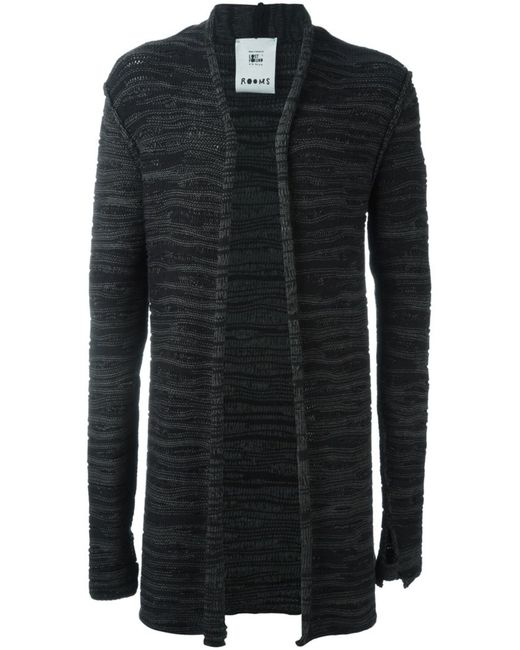 Lost & Found Rooms | Мужское Серый Open Front Cardigan