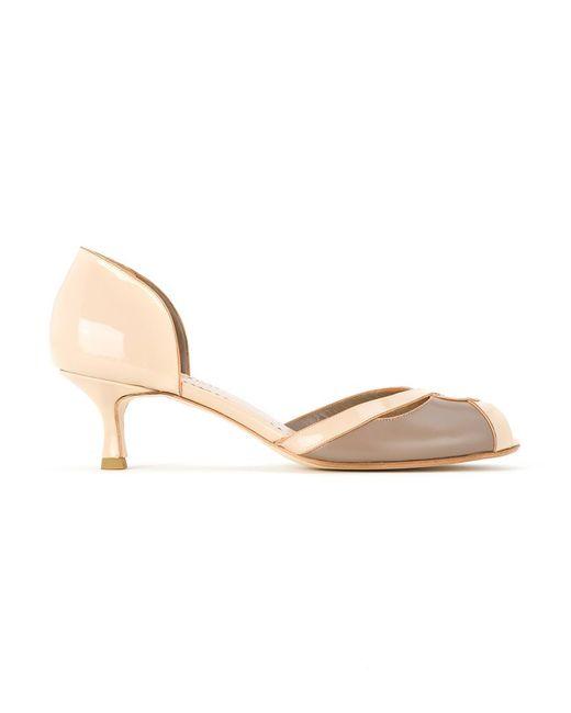 Sarah Chofakian | Женское Nude & Neutrals Leather Sandals