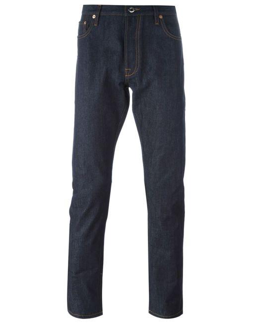 Valentino | Мужское Синий Rockstud Straight Leg Jeans