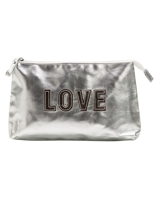 Sub   Женское Серебристый Love Make-Up Bag