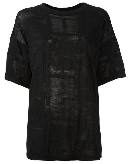 MM6 by Maison Margiela   Женское Чёрный Mm6 Maison Margiela Loose Fit T-Shirt