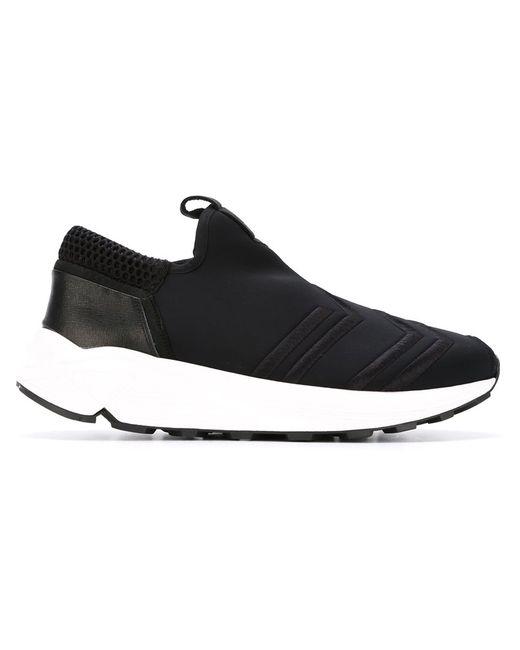 Bruno Bordese | Мужское Чёрный Slip On Sneakers