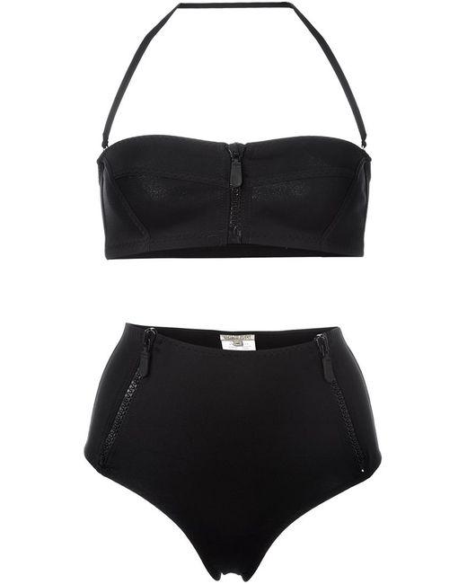 Emilio Pucci   Женское Чёрный Zipped High-Rise Bikini