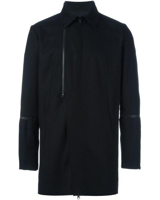 Y-3 | Мужское Чёрный Zipped Coat