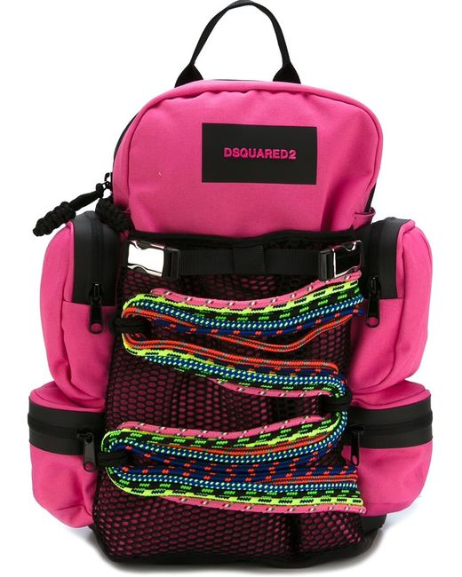 Dsquared2 | Женское Розовый Small Akira Backpack