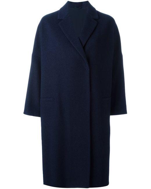 Brunello Cucinelli | Женское Синее Свободное Пальто