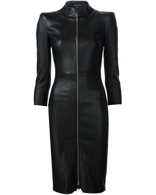 Jitrois   Женское Чёрное Платье Chiara