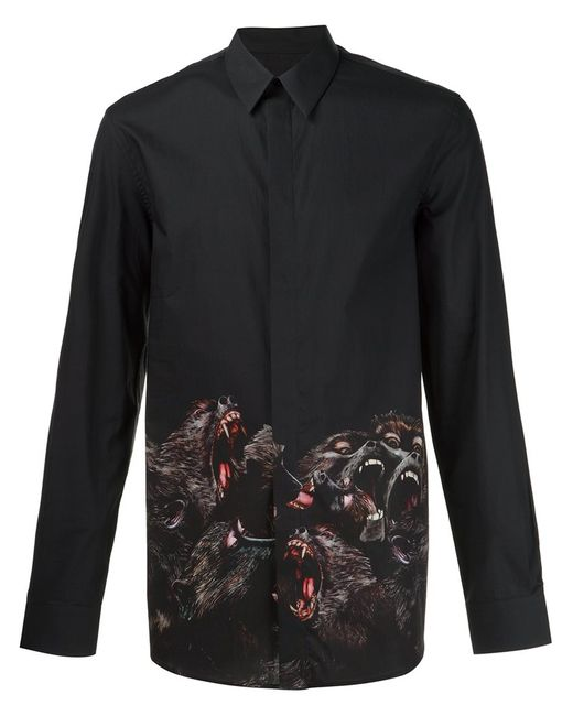 Givenchy | Женское Чёрный Baboon Print Shirt