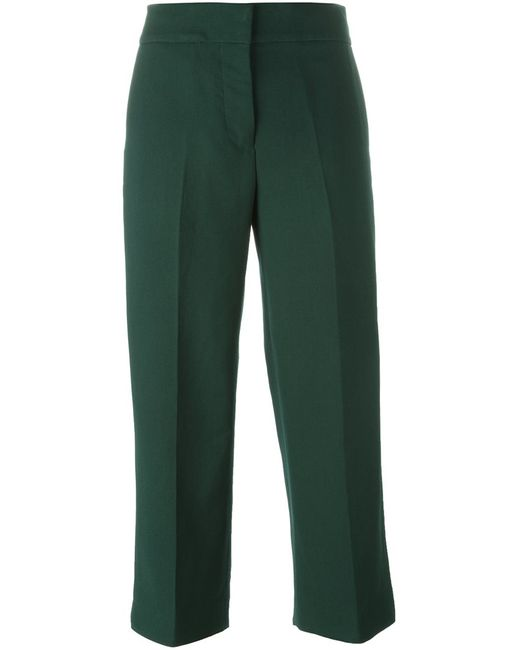 Marni | Женское Зелёный Cropped Trousers
