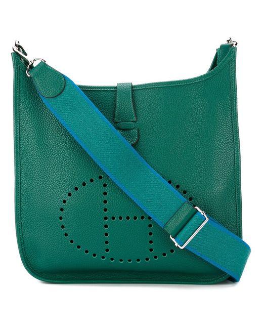 Hermès Vintage | Женская Зелёная Сумка На Плечо Evelyne Tpm