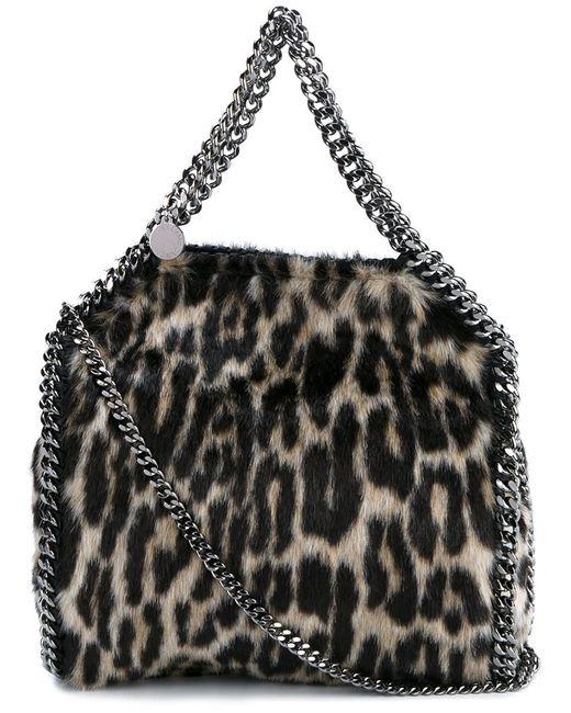 Stella Mccartney   Женское Чёрный Falabella Shoulder Bag