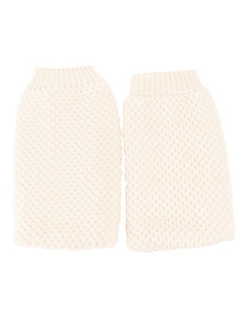 Maison Margiela | Женское Белый Fingerless Gloves