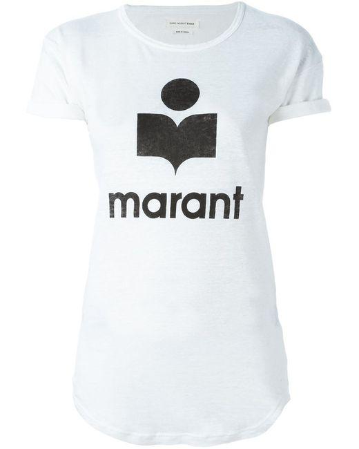 Isabel Marant Étoile   Женская Белая Футболка Koldi