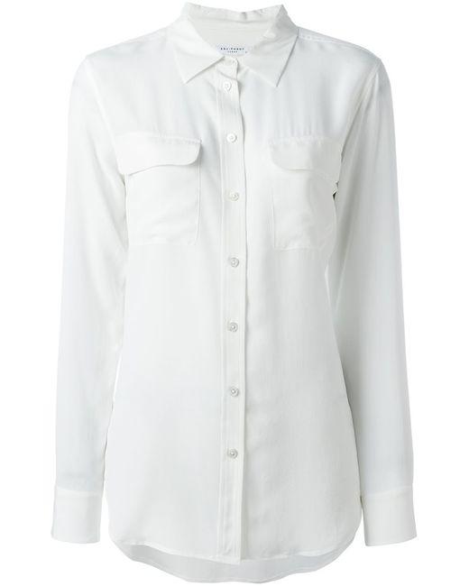 Equipment | Женская Белая Рубашка Panna