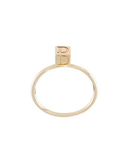 Abril Barret | Женское Серебристый D Initial Ring